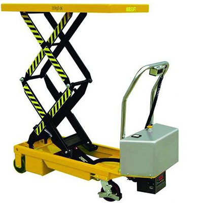 Battery powered scissor lift: ETFD35