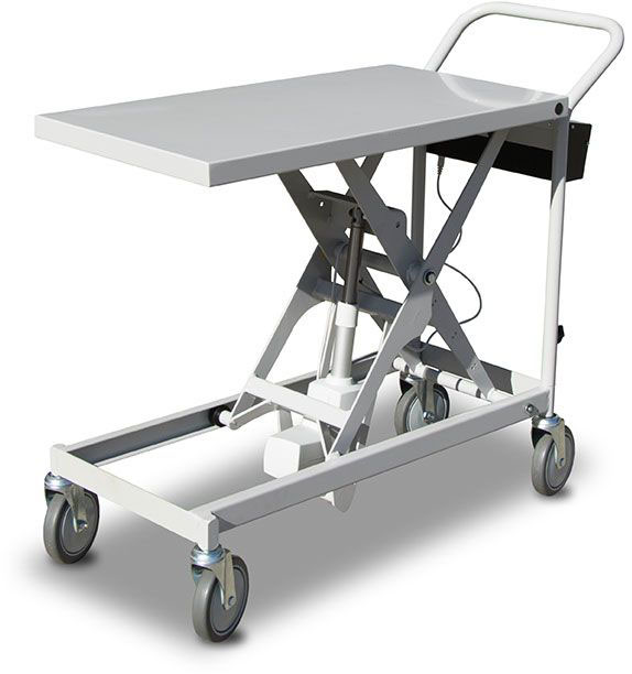 Battery powered scissor lift: SLB100
