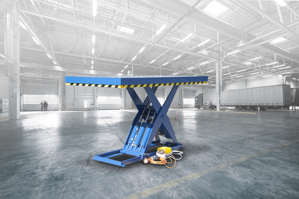 Industrial lift table - Scissor Lifts Australia