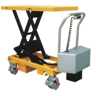 Battery powered scissor lift: ETF50