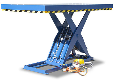 Custom hydraulic lift tables