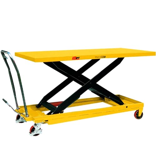 Manual scissor lifting trolley for veterinarians: SLMV500